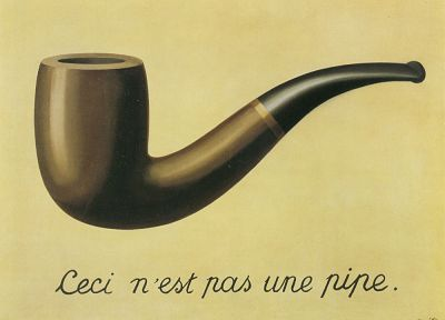 pipes, Rene Magritte, The Treachery of Images - desktop wallpaper