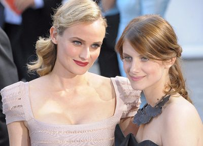 women, Diane Kruger, Melanie Laurent - random desktop wallpaper