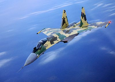 aircraft, Su-27 Flanker - desktop wallpaper