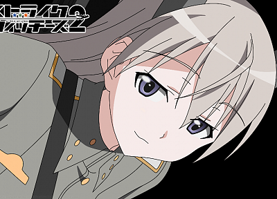Strike Witches, animal ears, Eila Ilmatar Juutilainen - desktop wallpaper