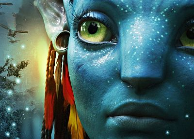 movies, Avatar, Zoe Saldana - random desktop wallpaper