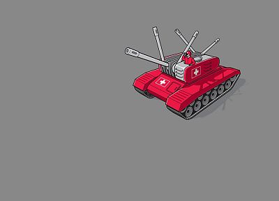 minimalistic, army, funny, tanks, military intelligence, Swiss Army, Glennz - desktop wallpaper