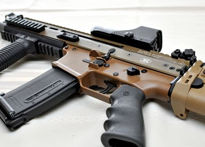 rifles, guns, weapons, eotech, 5, 56x45mm, SCAR-L - related desktop wallpaper