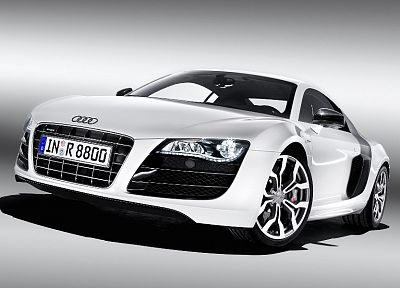 cars, Audi, Audi R8, white cars - related desktop wallpaper