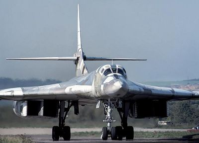 aircraft, Tu-160, Tupolev, Russians - random desktop wallpaper