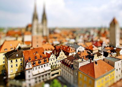 cityscapes, tilt-shift - related desktop wallpaper