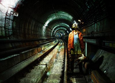metro, subway, Metro 2034 - related desktop wallpaper