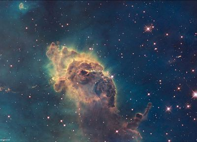 outer space, nebulae, Carina nebula - desktop wallpaper