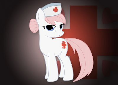 My Little Pony, Nurse Redheart - duplicate desktop wallpaper