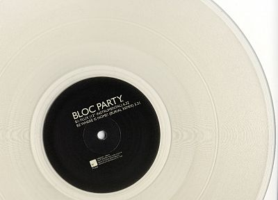 record, vinyl, Bloc Party - desktop wallpaper