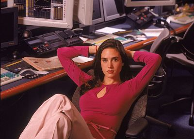 women, models, Jennifer Connelly - random desktop wallpaper
