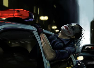 The Joker, artwork, The Dark Knight - random desktop wallpaper