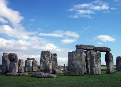 architecture, Stonehenge - random desktop wallpaper