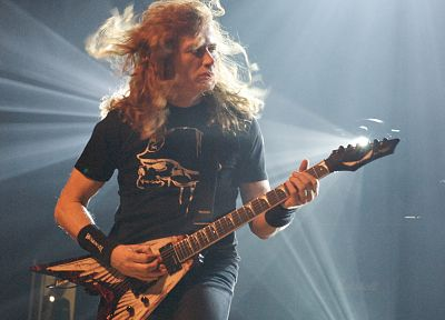 Megadeth, Dave Mustaine, electric guitars - desktop wallpaper