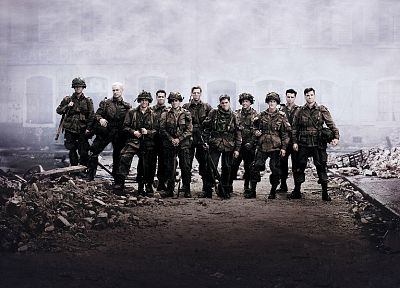 World War II, Band Of Brothers, serie, TV series, debris - random desktop wallpaper