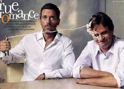 TV, Hugh Laurie, James Evan Wilson, Gregory House, Robert Sean Leonard - random desktop wallpaper