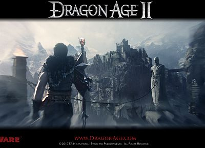 video games, Dragon Age, Dragon Age 2 - random desktop wallpaper