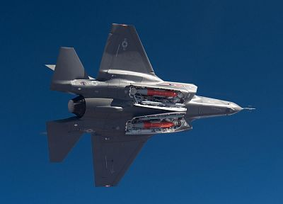 aircraft, F-35 Lightning II, lightning - desktop wallpaper