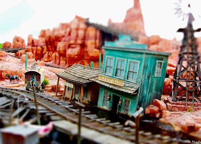 tilt-shift - random desktop wallpaper