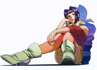 Cowboy Bebop, purple hair, Faye Valentine (Cowboy Bebop) - desktop wallpaper