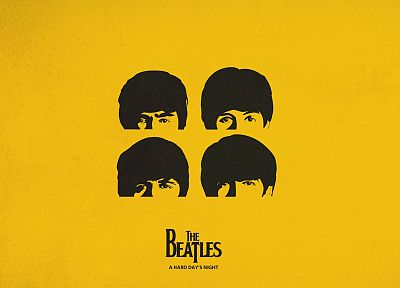 minimalistic, music, The Beatles - desktop wallpaper