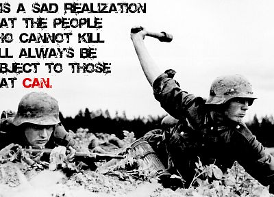 soldiers, World War II, philosophy, grenades - random desktop wallpaper