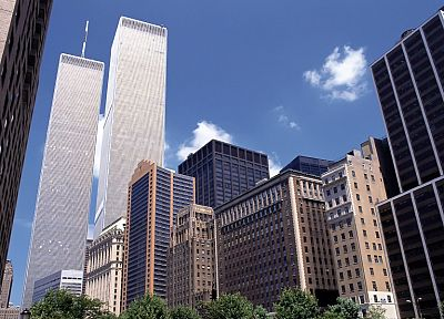 cityscapes, World Trade Center, New York City - desktop wallpaper