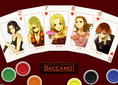 Baccano!, anime - duplicate desktop wallpaper