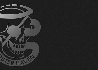 Metal Gear, skulls, logos - random desktop wallpaper