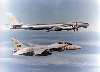 aircraft, military, bomber, planes, bears, Tu-95 Bear - related desktop wallpaper