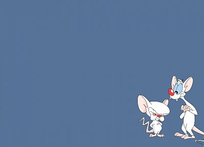 Pinky and the Brain, simple background - desktop wallpaper