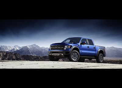 cars, Ford, SVT, Ford F150 SVT Raptor, pickup trucks - duplicate desktop wallpaper
