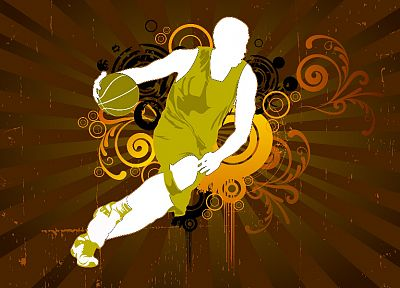 basketball, basketball player - desktop wallpaper