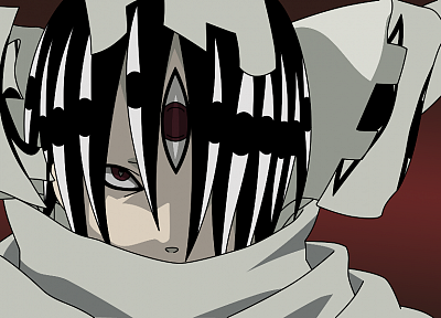 Soul Eater, creepy, anime, Kishin - random desktop wallpaper