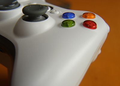 close-up, Xbox, controllers - random desktop wallpaper