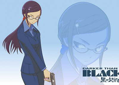 Darker Than Black, Kirihara Misaki, anime girls - random desktop wallpaper