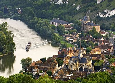 Normandy, France, Seine valley, Les Andelys - random desktop wallpaper