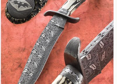 knives, Damascus, damascus steel - desktop wallpaper