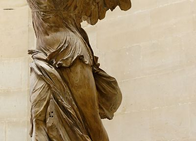 winged Victory of Samothrace - random desktop wallpaper