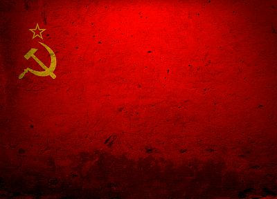 red, flags, USSR, Soviet - related desktop wallpaper