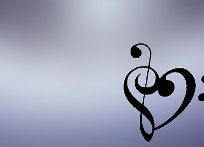 music, hearts - random desktop wallpaper