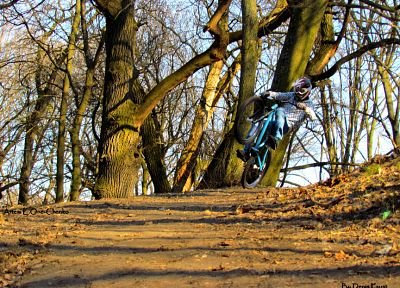 bike, forests, bicycles, sports, Ukraine, extreme sports, vehicles, freeride, mountain bikes - random desktop wallpaper