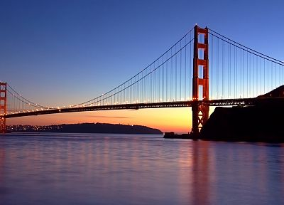 cityscapes, bridges, urban, buildings, Golden Gate Bridge, San Francisco - related desktop wallpaper