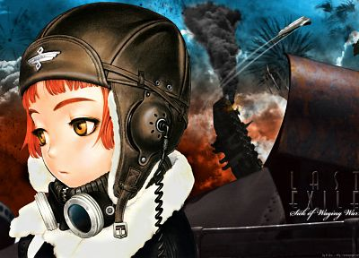 Range Murata, Last Exile, anime, Lavie Head, soft shading - desktop wallpaper