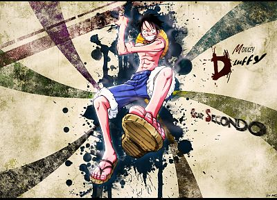 One Piece (anime), Monkey D Luffy - random desktop wallpaper