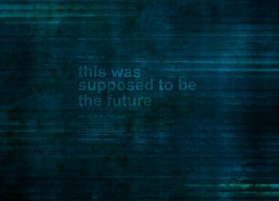 futuristic, text, technology, green background, inventions - random desktop wallpaper
