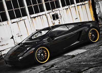 cars, sports, vehicles, Lamborghini Gallardo - desktop wallpaper