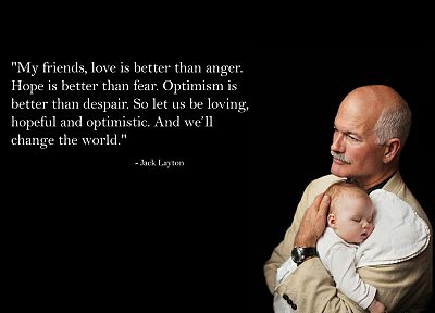 Canada, party, socialism, government, Jack Layton - random desktop wallpaper