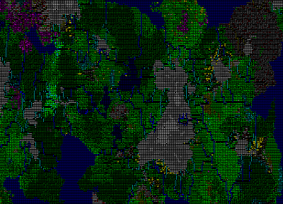 video games, maps, Dwarf Fortress - random desktop wallpaper