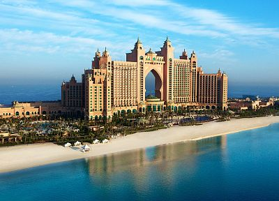 cityscapes, Atlantis, Dubai, The Palm Jumeirah - random desktop wallpaper